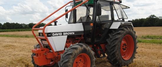 David Brown 1390 4WD, John Deere 6320 et Deutz D25