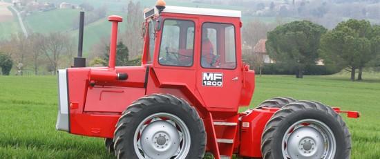 Massey Ferguson 1200, une rénovation ambitieuse
