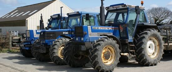 Des tracteurs à l'épreuve du sel