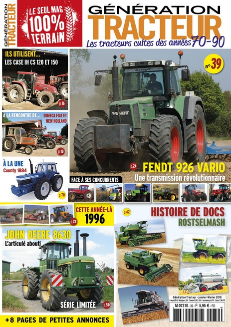 Génération Tracteur n°39