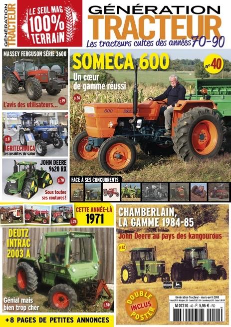 Génération Tracteur n°40