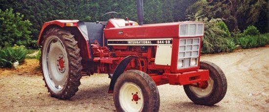 Un IH 844 SB restauré 30 ans après