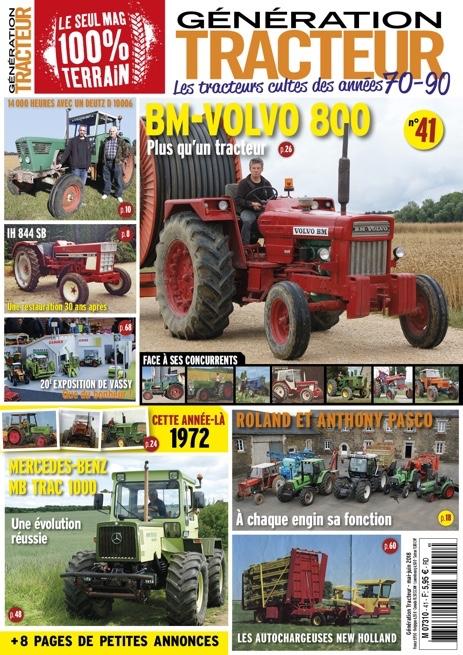 Génération Tracteur n°41
