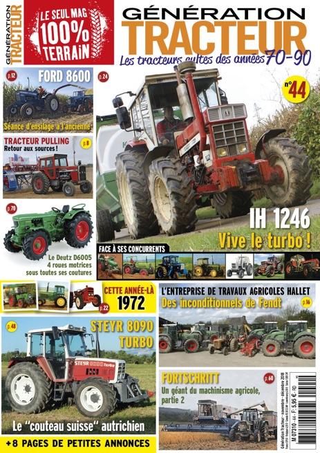 Génération Tracteur n°44