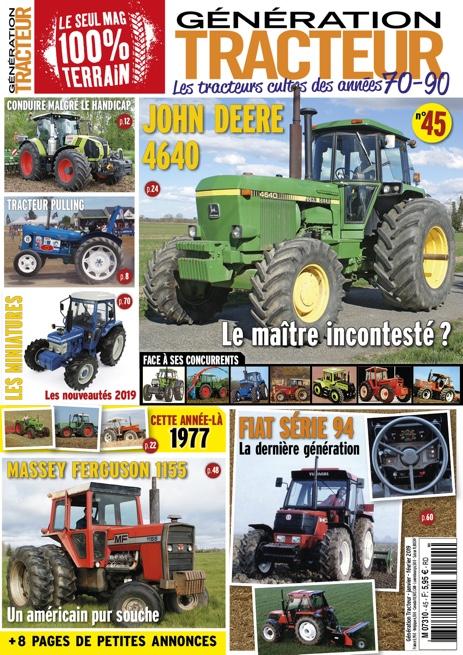 Génération Tracteur n°45