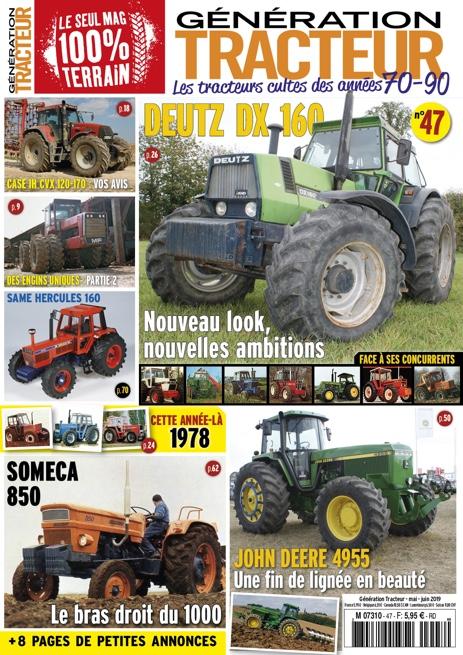 Génération Tracteur n°47