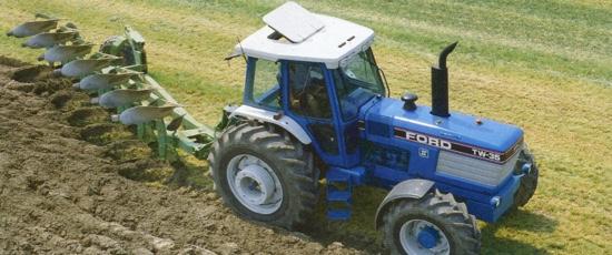Les tracteurs de plus de 150 chevaux en 1987