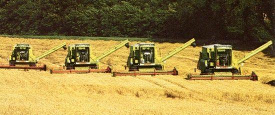 La gamme Claas 1977-1978, le futur du leader de la récolte