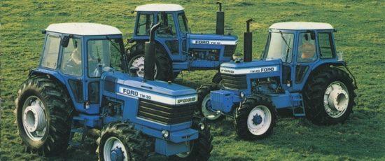 Ford TW 10, 20 et 30, la première génération des 3 grands bleus