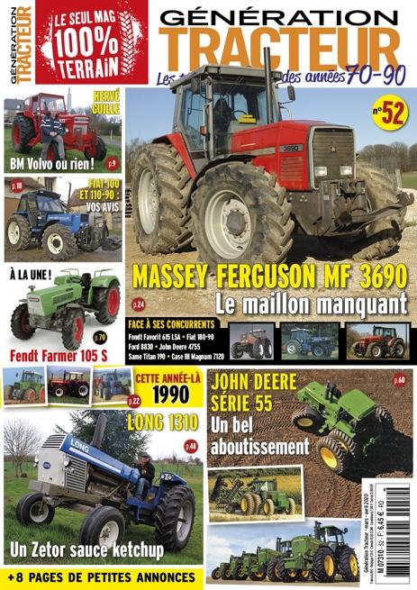 Génération Tracteur n°52