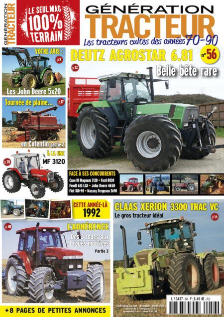 Génération Tracteur n°56