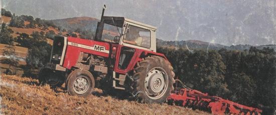Les tracteurs Massey Ferguson 1978