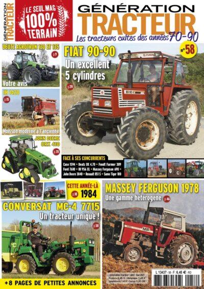 Génération Tracteur n°58